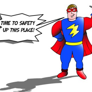 Super Hero Tips on Home Safety