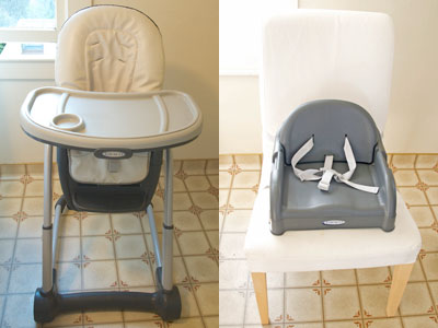 Highchair and Toddler Booster