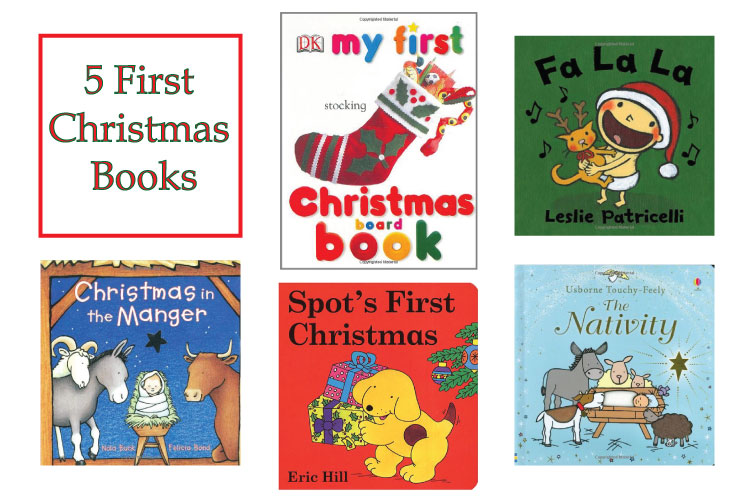 5 First Christmas Books