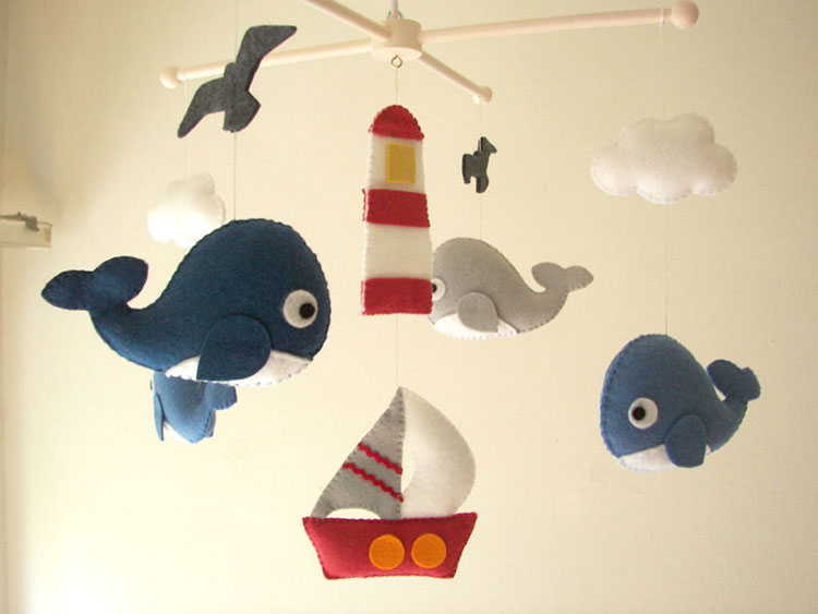 Crafty Catch: Feltnjoy - Baby Crib Mobiles