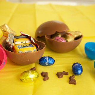 Make Your Own Chocolate Surprise Eggs