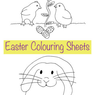Easter Colouring Sheets – Free Printables