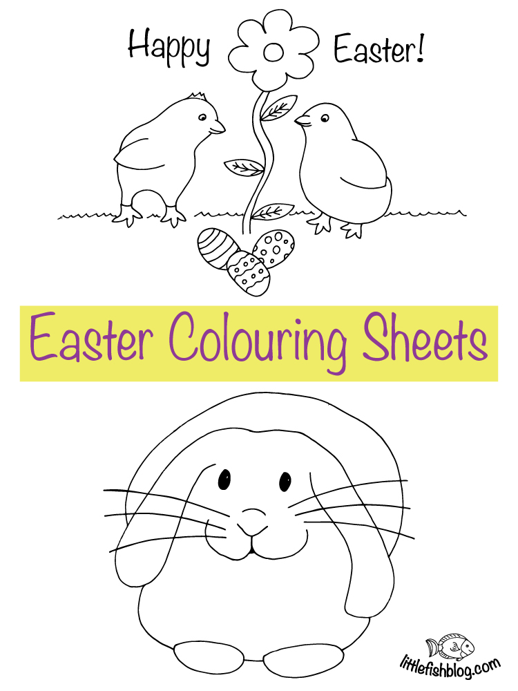 Easter Colouring Sheets - Free Printables