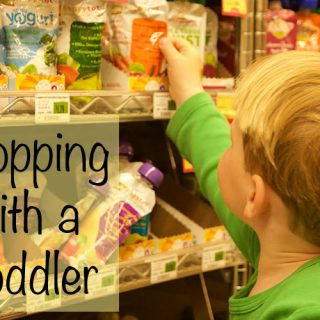 5 Tips on Shopping with a Toddler