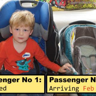Passenger No 2 Arriving…
