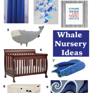 Whale Themed Nursery Ideas