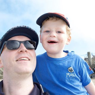 41/52 Daddy and Little M Selfie