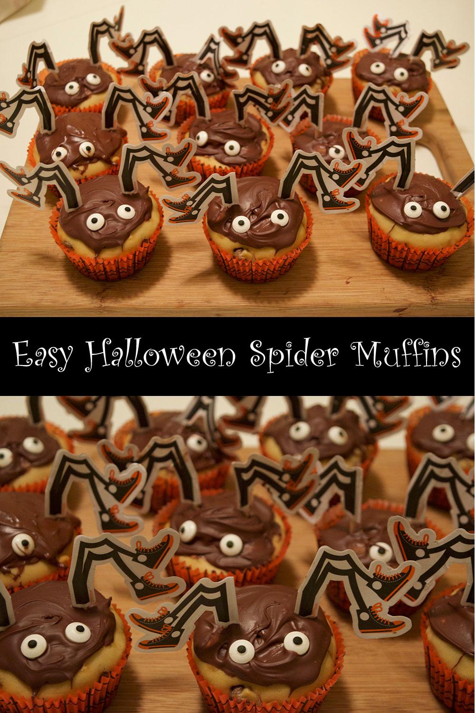 Easy-Halloween-Spider-Muffins