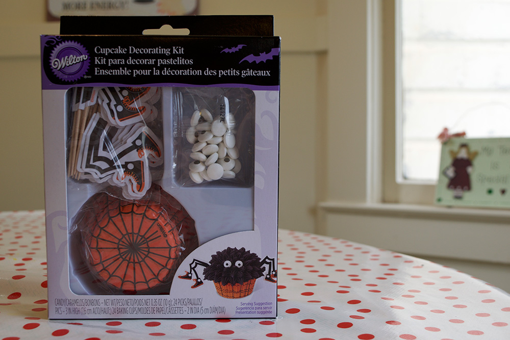 Spider-Muffin-Kit