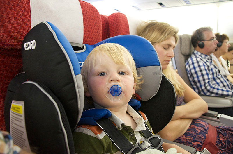 Tips on Flying with Baby or Toddler... Whilst Keeping your Sanity!