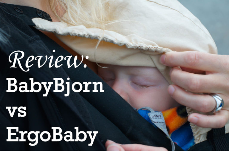 REVIEW: BabyBjorn and Ergobaby Comparison