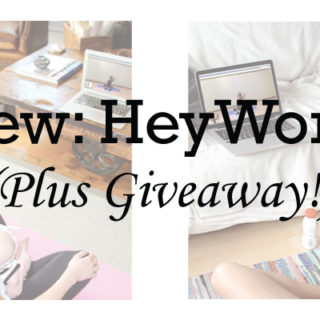 Review: HeyWorkout (Plus Giveaway!)