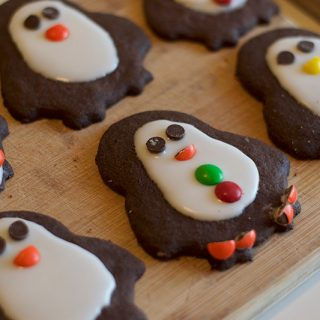 Easy Chocolate Penguin Cookies
