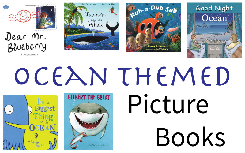 Our Favourite Ocean Themed Picture Books