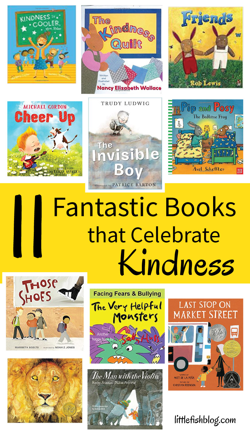 11 Fantastic Books That Celebrate Kindness