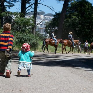 Little Moments: Mother's Day and Horse Spotting