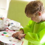 Little Moments: Painting Stones and a Walking Adventure