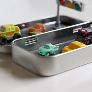 How to Make a Mini Road Travel Tin