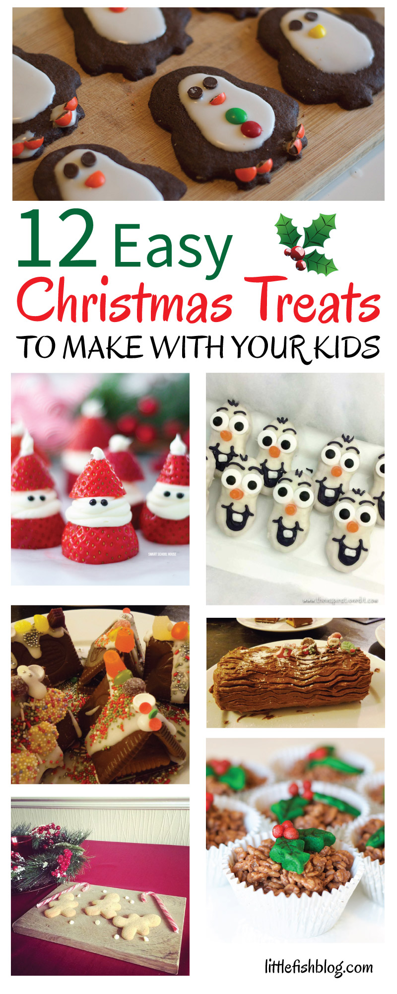 12 Easy Christmas Treats to Make with Your Kids - Little Fish