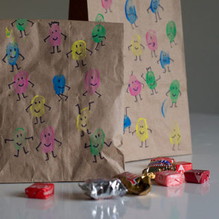 Finger Paint People Goodie Bags