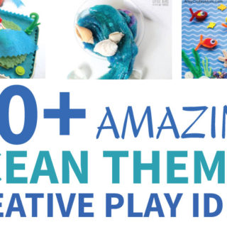 20 + Amazing Ocean Themed Creative Play Ideas