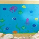 Fun Finger Paint Aquarium Activity