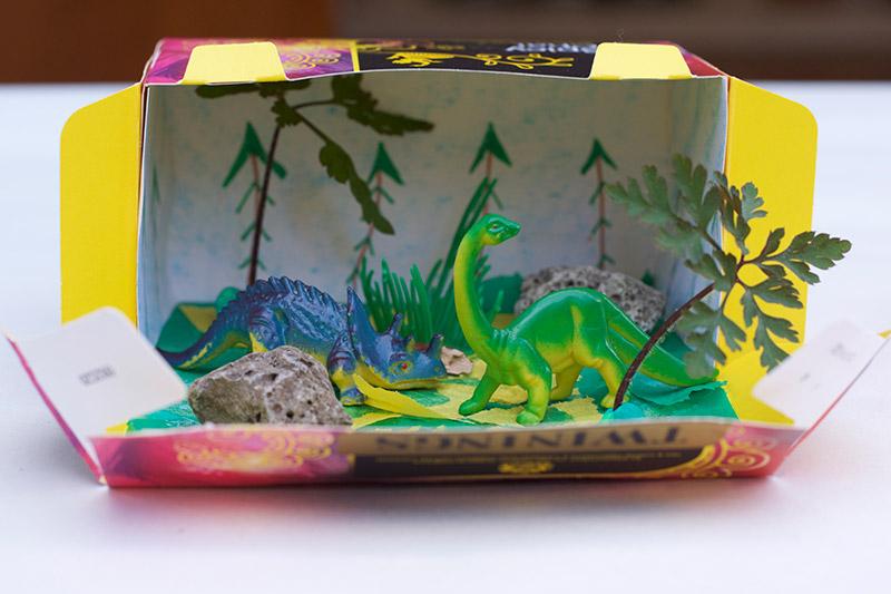 Dinosaur Habitat Box