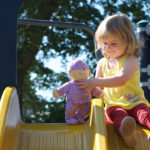 Little Moments: LP's Baby and Outside Play