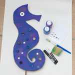 Make a Seahorse Hobby Horse (With Things You Have At Home)