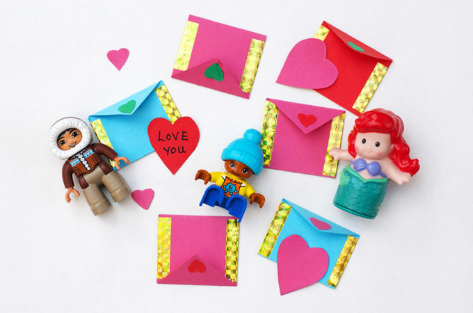 Miniature Envelope Craft