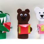 Toilet Paper Roll Animal Valentine Craft