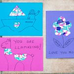 Washi Tape Cards for Kids to Make