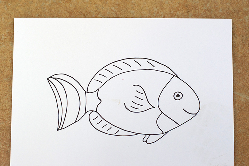 photograph relating to Printable Puppets on a Stick named Sea Creature Adhere Puppets - with Cost-free Printable! - Small Fish