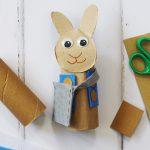 Peter Rabbit Toilet Roll Craft